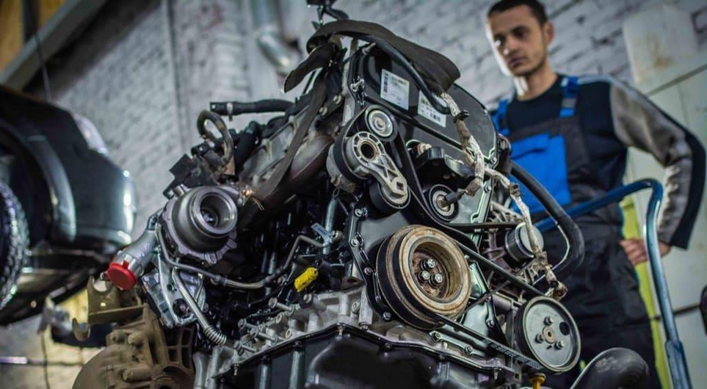 Замена двигателя Митсубиси в Екатеринбурге
