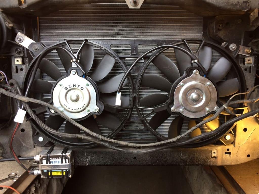 Замена вентилятора охлаждения Мазда в Екатеринбурге