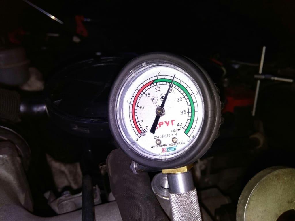 Замер компрессии двигателя Митсубиси в Екатеринбурге
